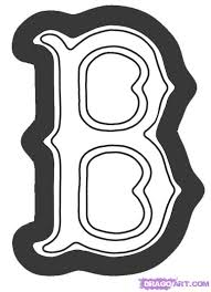 Small Picture how to draw the boston red sox logo step 5 Boy crafts