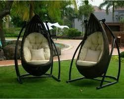 indoor swing furniture. Indoor Outdoor Swing Chair White Vinyl Porch Sturdy Furniture R