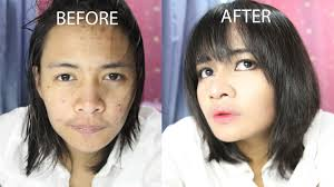 asian makeup transformation step by step
