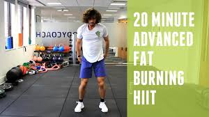 20 minute advanced fat burning hiit workout