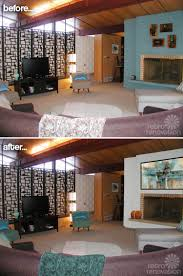 Modern Living Room Paint Colors Paint Colors For A Fireplace In Kathys Mid Century Modern House