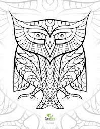 Owlglyph Coloring Books For Adults Free