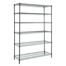 hdx storage shelf 6 shelf hdx 4 shelf plastic ventilated storage unit d5085