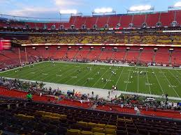 Redskins Seating Chart View Fedexfield View From Zone A Club 341 Vivid Seats