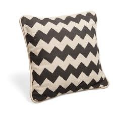 Chevron Black & Cream Cushion - B&Q for all your home and garden supplies  and advice on all the latest DIY trends