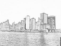 Coloriage De New York City A Imprimer L Duilawyerlosangeles