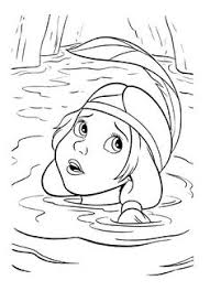 Small Picture Peter Pan catching Tinkerbell coloring page malebog Pinterest