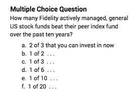 How Many Fidelity Actively Managed Funds Have Outperformed