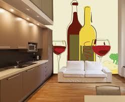 ... This Colourful Kitchen Wallpaper Design ...