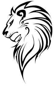 lion face black and white clipart. Brilliant Clipart Lion Vector Art  Clipart Library With Face Black And White G