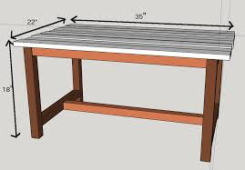 build your own coffee table with these free plans and under 15 in lumber
