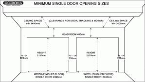 garage door widthsStandard Office Door Width Australia Standard Office Door Width