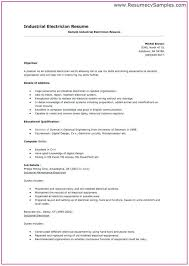 Electrician Cv Template Uk Template Resume Examples