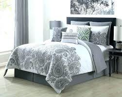 full size of blue grey duvet cover mizone skylar printed set and white double bedding ideas