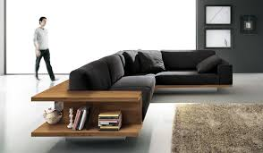 zen sofa, stylish and ergonomic black sofa by alf-dafre