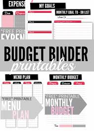 Free Printable Budget 11 Free Budget Printables To Help Get Your Money Under Control
