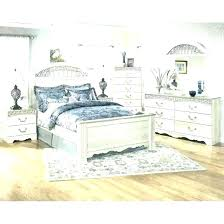 distressed white king bedroom set rustic bed far fetched sets furniture home interior 6