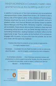 com inner workings literary essays  com inner workings literary essays 2000 2005 9780143113782 j m coetzee derek attridge books