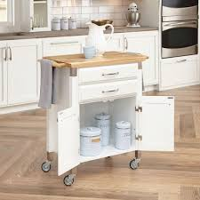 White Kitchen Cart With Granite Top Kitchen Carts Carts Islands Utility Tables Kitchen The