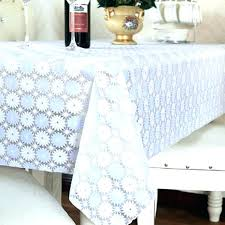 clear tablecloth cover plastic clear vinyl tablecloth protector round