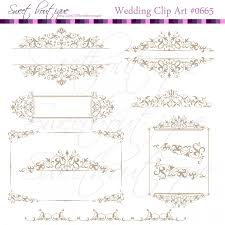 Calligraphy Clipart Antique Frame Free collection Download and