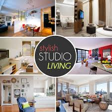 The Design Lovers Guide To Stylish Studio Living - Tiny studio apartment layout