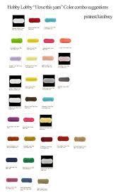 Hobby Lobby I Love This Yarn Color Combo Combination