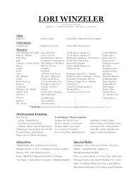Resume Template Purdue Inspiration Curriculum Vitae Purdue Owl Resume Template Dance Audition Cover