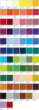 The Blind Potter Mayco Color Chart