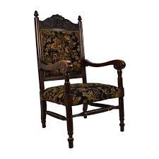 antique tudor upholstered chair accent chairs