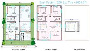 extraordinary design ideas house plan for 30x40 site east facing as per vastu 6 floor plans