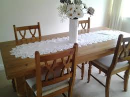 Pine Kitchen Table And Chairs Solid Pine Dining Table And 4 Pine Chairs For Sale In Barry