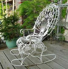 outdoor rocking chair garden rocking