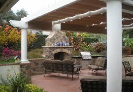 Outdoor Kitchen U0026 Fireplace In Vista CA