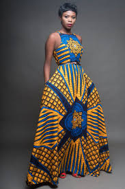 Blue African Dress Designs Moremi Dress African Attire African Fashion Designers