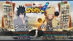 Naruto Shippuden Ultimate Ninja Storm 4 All Characters, Costumes, Forms,  Jutsu, Stages | Naruto, Naruto shippuden, Pokémon black and white