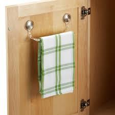 interdesign forma adhesive towel bar kitchen dish towel holder r61 kitchen