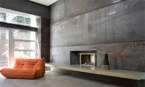 concrete home design. interior home design build with concrete