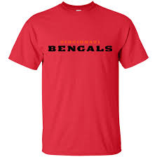 Cincinnati Bengals Logo football Men's T-Shirt - Awesome TeeShirts