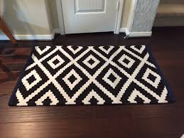 black and white diamond rug. black and white accent rug with diamond pattern. brand .
