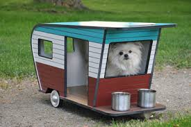 DIY Dog House Dog Trailer