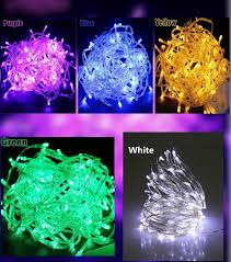 pack of 5 fairy lights led string lights 45 led bulbs each