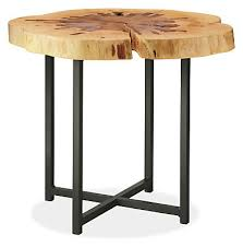 Allard End Tables in Natural Steel - Modern End Tables - Modern Living Room  Furniture - Room & Board