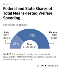 Welfare Chart By State Understanding The Hidden 1 1 Trillion Welfare System And