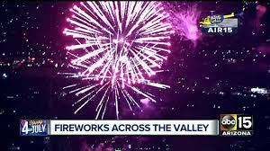 Arizona Celebration Of Lights 2017 2017 Fourth Of July Festivals In Phoenix 25 Firework Shows