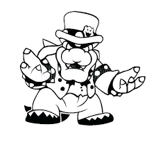 Super Mario Coloring Pages To Print Entucorg