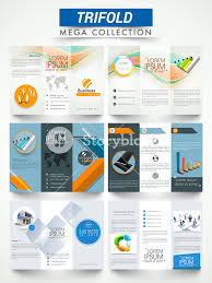 Presentation Flyers Mega Collection Of Two Sided Professional Three Fold