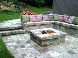 patio with square fire pit.  Fire Patio With Fire Pit Ideas And 3 Delightful 5  Backyard In Patio With Square Fire Pit