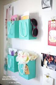 cool easy crafts for your room ping bag wall organizer and super projects home diy to cool