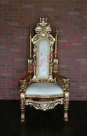 50 off trunk show floor sample lord raffles lion throne chair gold